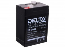 Аккумулятор 06 V 4.5 Ah Delta DT 6045