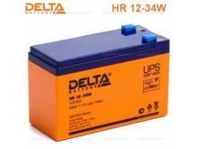 Аккумулятор 12 V 9 Ah Delta HR12-34W