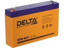 Аккумулятор 06 V 7 Ah Delta HR 607