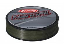 Леска Berkley NanoFil  Green 0.04 125м 1,9кг