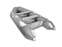 Лодка GLADIATOR А340ТК светло-темносерый