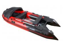 Лодка GLADIATOR C330 AL красно-черный