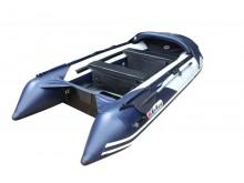 Лодка Sun Marline SDP-330 серая A/L с носовым тентом