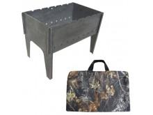 Мангал (Тонар) разборный, сумка, 1,5мм