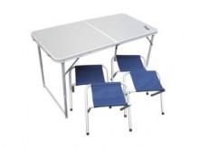 Набор стол +4 табурета HELIOS