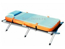 Раскладушка с надувным матрасом, подушкой
