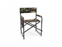 Кресло складное с карманом на подлокотнике сталь SK-02