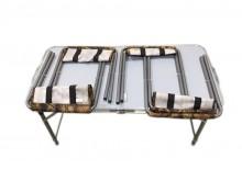 Стол складной+4 складных стула (Китай)