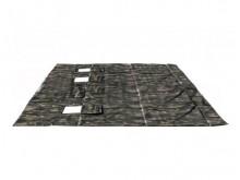 Пол для палатки ткань оксфорд 300 р. 2,20*2,2м