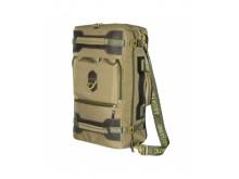 Сумка -рюкзак С-27 с кожаными накладками