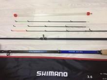 Удилище фидерное SHIMANO 3,6м тест 60-120гр аналог